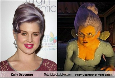 animation,fairy godmother,funny,Kelly Osbourne,shrek,TLL