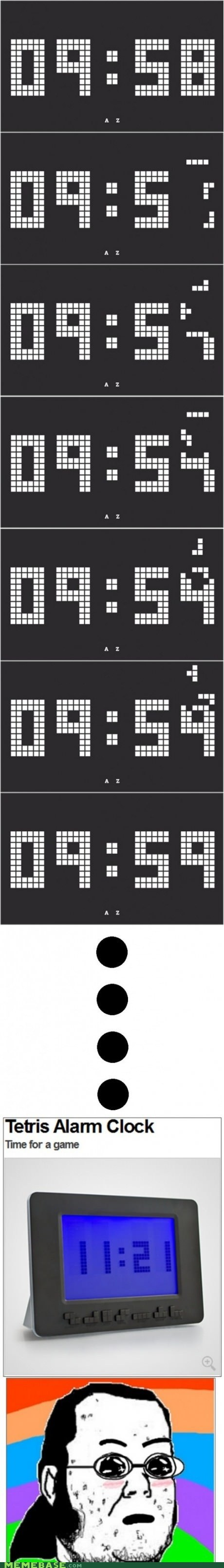 8 bit alarm clock tetris the internets want - 6526457600