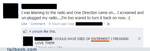 1d,excrement,one direction,radio