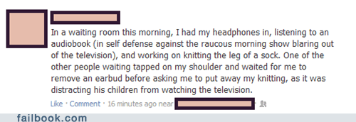 headphones knitting parenting - 6526582784