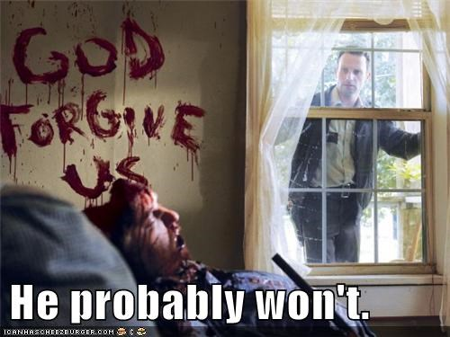 Andrew Lincoln,god,Rick Grimes,suicide,The Walking Dead,wont