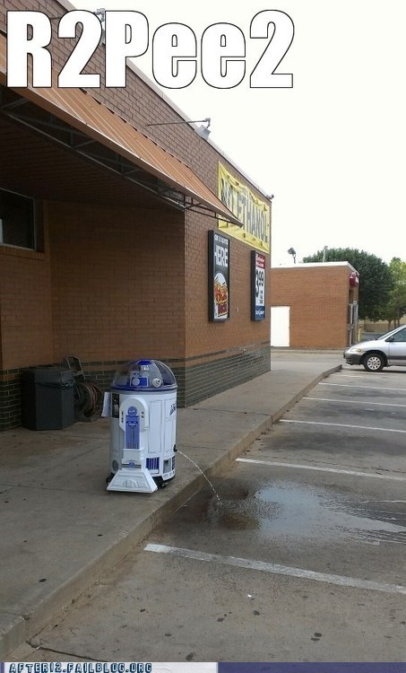 r2d2,wtf,pee time,funny