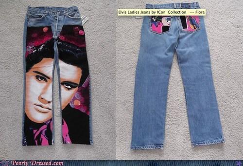 Elvis Presley,jeans