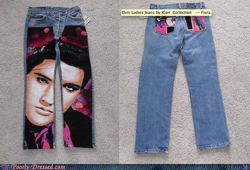 Elvis Presley jeans - 6526750464