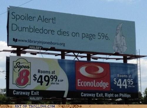 billboard,Harry Potter,IRL,spoilers