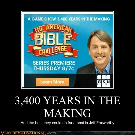 bible challenge,game show,host,jeff foxworthy