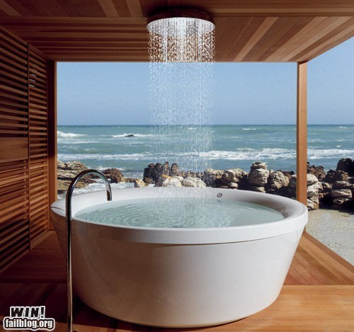design pool relaxing shower tub - 6527067136
