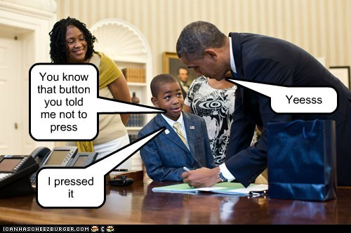 accident barack obama button kid mistake oops - 6527117056
