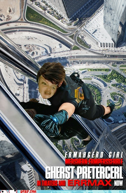 Ermahgerd,Ghost Protocol,mission impossible,movie poster