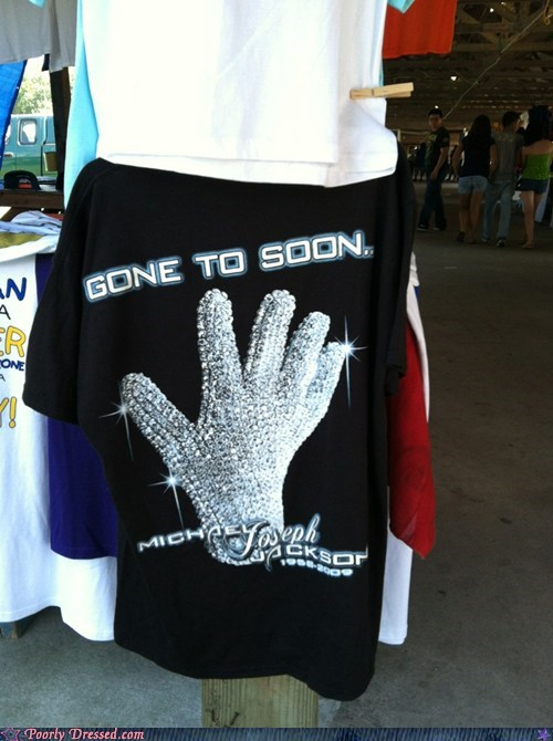 michael jackson,misspelled shirt,studded glove