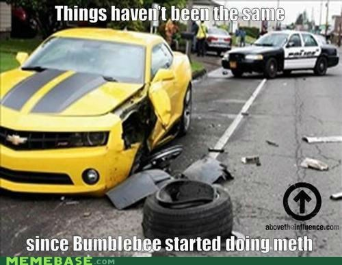 bees,Bumblebee,crash,Not Even Once,transformers