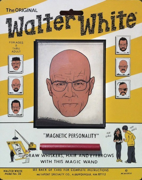 art show,breaking bad,gallery,walter white,wooly willy
