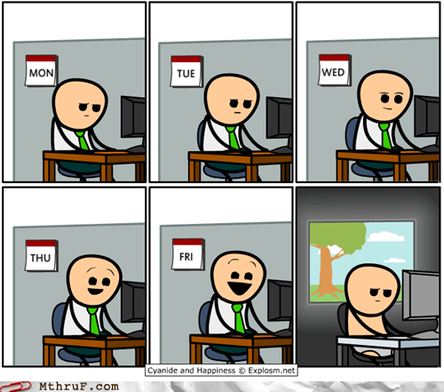 c&h ch cyanide and happiness FRIDAY weekend - 6527580416
