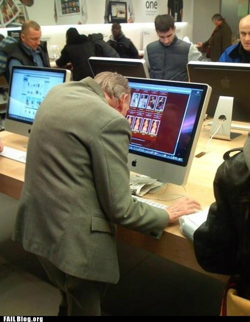 apple store imac old people pr0n