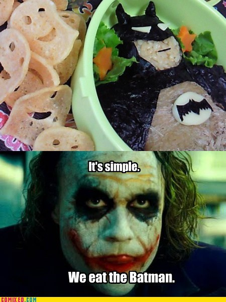 batman,dessert,food,joker,Movie,the dark knight