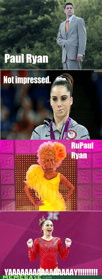 drag queen,mckayla is not impressed,paul ryan,politics,rupaul