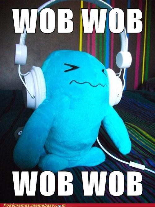 dubstep IRL Music toy wob wobbuffet