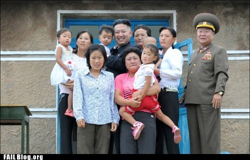 cheese kim jong-un North Korea portrait smile