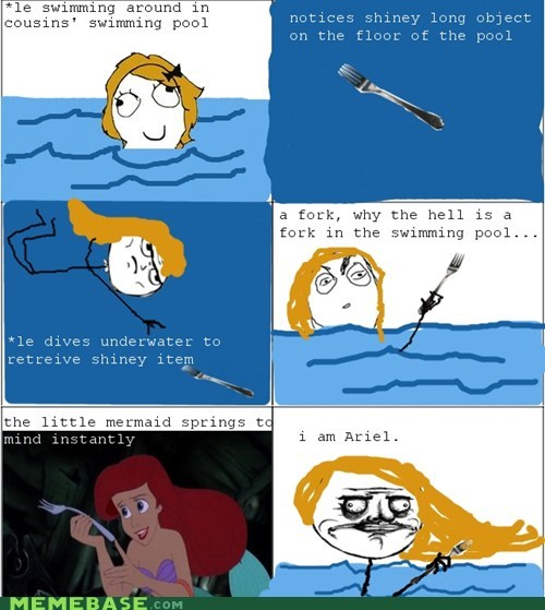 fork,me gusta,The Little Mermaid