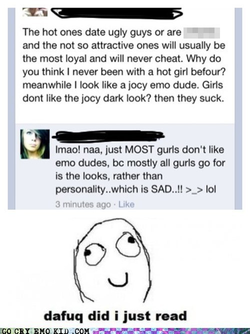 dafuq did i just read,emo,facebook,gurl,spelling issues