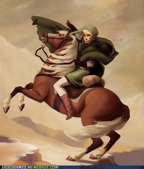 art awesome legend of zelda link napoleon