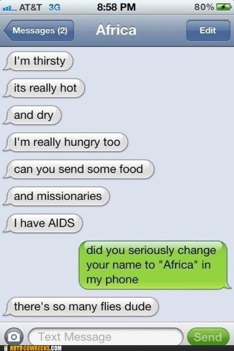 africa contact name continents iPhones stereotypes - 6529140992