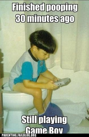 gameboy potty toilet - 6529313536