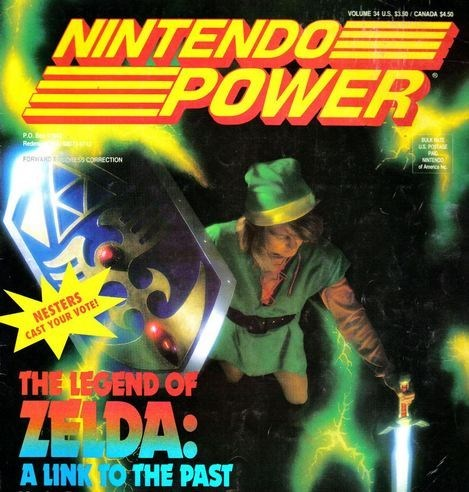 Metroid nintendo power rest in peace zelda - 6529356288