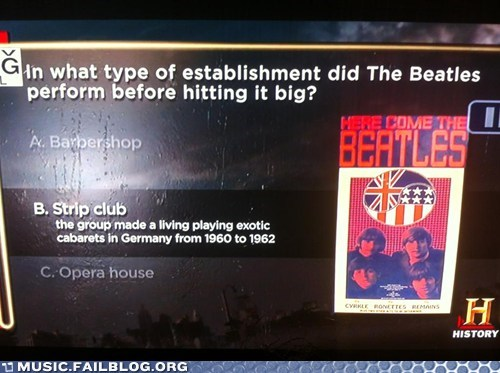 the Beatles trivia - 6529392384