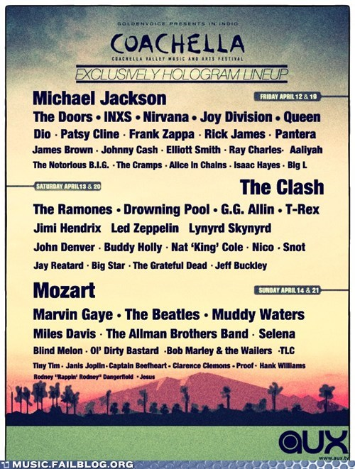 band lineup,coachella