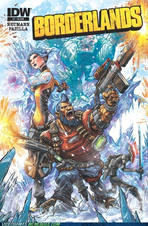 awesome,borderlands 2,comic,gunzerker