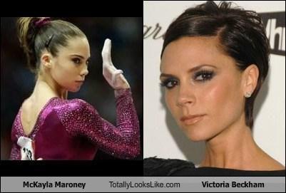 celeb,funny,mckayla maroney,olympics,Posh Spice,TLL,Victoria Beckham