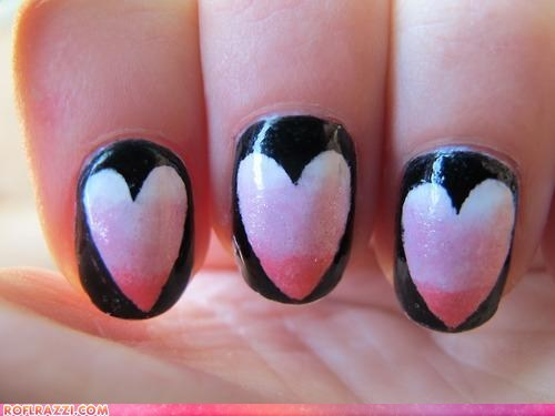 fashion funny celebrity pictures hearts if style could kill nails - 6529525504