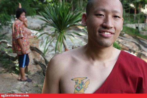 chest tattoos pikachu Pokémon - 6529579008