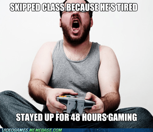 gaming hardcore gamer school zombie - 6529647360