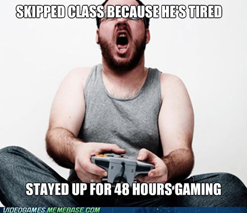 gaming hardcore gamer school zombie - 6529647360