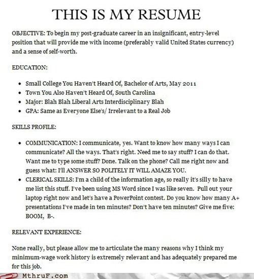 cv,lazy,relevant skills,resume,skills