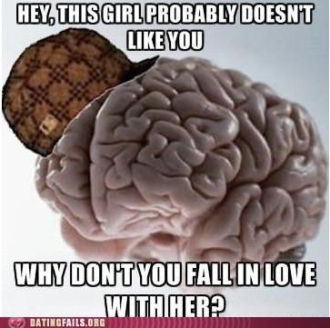 doesnt-want-you,fall in love,scumbag brain
