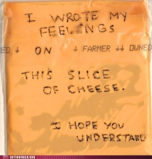 i dont understand slice of cheese wrote my feelings - 6529722368