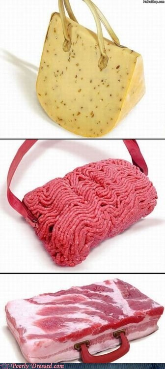 bacon cheese meat purses - 6529880832
