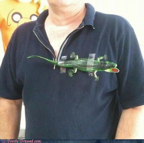 alligator shirt counterfeit polo shirt - 6529974784