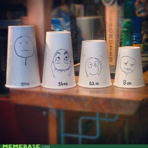 coffee cups faces - 6530104064