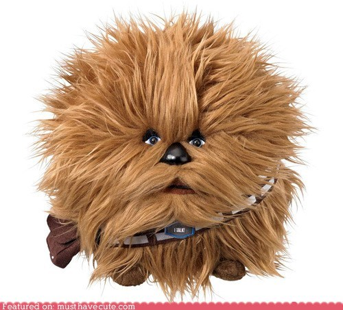 ball chewbacca fuzzy star wars - 6530131456