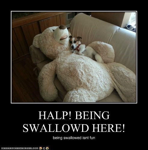 HALP! BEING SWALLOWD HERE! being swallowed isnt fun