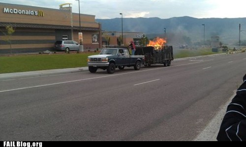 delivery driving fire truck - 6530395648