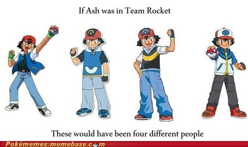 anime ash changes Team Rocket - 6530804480