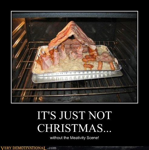 christmas meat Nativity
