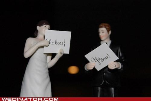 boss bride figurines groom signs - 6531379200