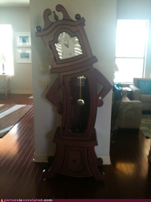 grandfather clock,sassy,time