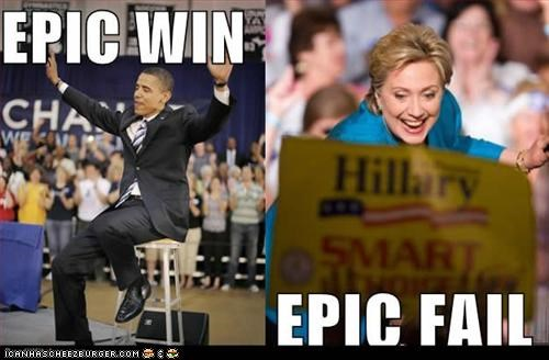 barack obama,clinton,democrats,FAIL,First Lady,Hillary Clinton
